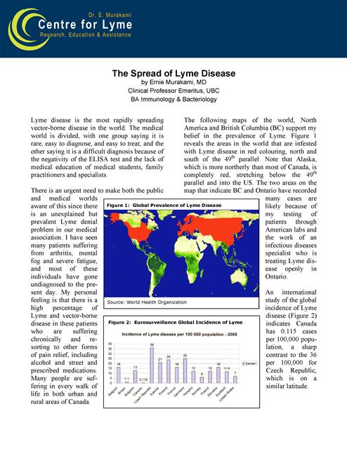 outline research paper lyme disease